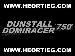 Dunstall Norton Domiracer 750 Fairing Transfer Decal D20084F-9
